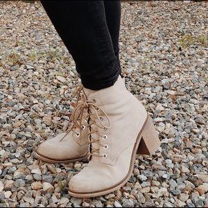 ALDO Lace-up heeled boots